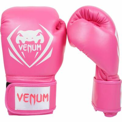 Venum Contender műbőr bokszkesztyű - rózsaszín