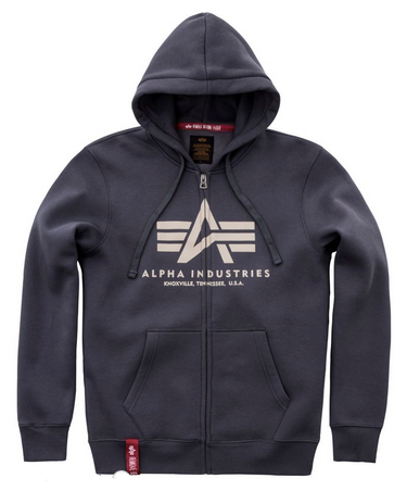 Alpha Industries férfi ruházat - Basic Ziphoody kapucnis 2aaae8c3d1